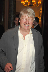 STANLEY JOHNSON at a party to celebrate the 180th Anniversary of The Spectator magazine, held at the Hyatt Regency London - The Churchill, 30 Portman Square, London on 7th May 2008.<br /><br />NON EXCLUSIVE - WORLD RIGHTS