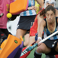DEN HAAG - Rabobank Hockey World Cup<br /> 30 Argentina - China<br /> Foto: Rosario Luchetti.<br /> COPYRIGHT FRANK UIJLENBROEK FFU PRESS AGENCY