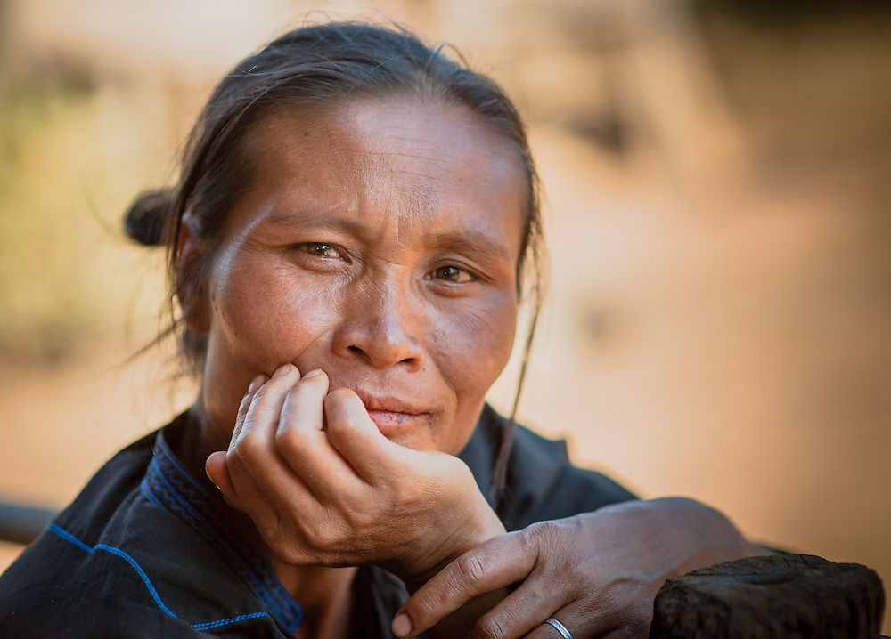 Country woman portrait (Myanmar)