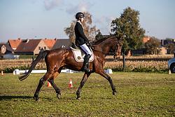 Smet Sebastiaan, BEL, Gina v't Plutonia Hof<br /> Eventing Sint Gillis Waas 2019<br /> © Hippo Foto - Dirk Caremans<br /> 10/11/2019