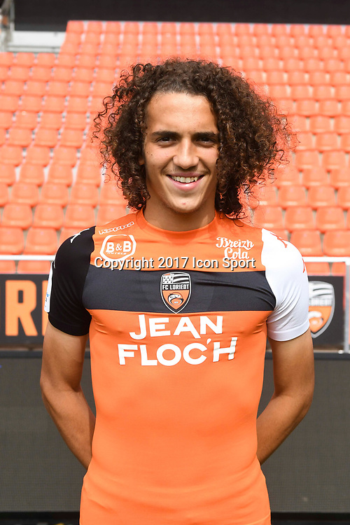 Matteo Guendouzi Olie during photoshooting of FC Lorient for new season 2017/2018 on September 12, 2017 in Lorient, France. (Photo by Philippe Le Brech/Icon Sport)