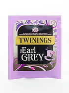 London, England - March 07, 2017: Twinings Earl Grey Tea, Twinings was founded by Thomas Twinings around 1706 in London, England.