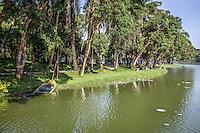 Locals enjoying a day out at Kandawgyi Lake, Yangon, Burma.