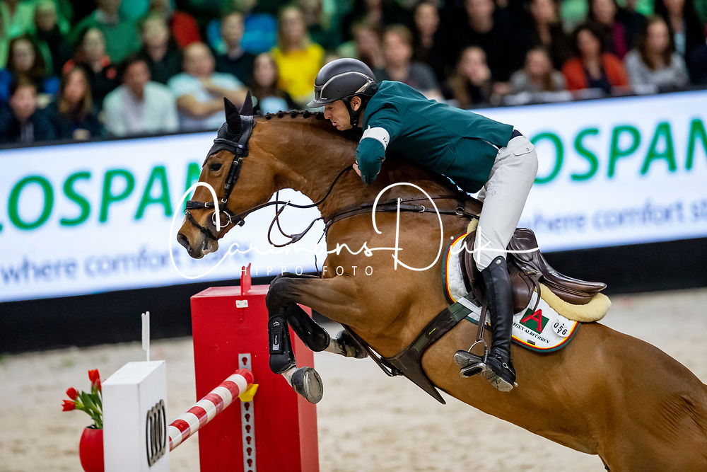 Guerdat Steve, SUI, Bianca<br /> Rolex Grand Slam of Showjumping<br /> The Dutch Masters - 'S Hertogenbosch 2019<br /> © Hippo Foto - Sharon Vandeput<br /> <br />  17/03/2019