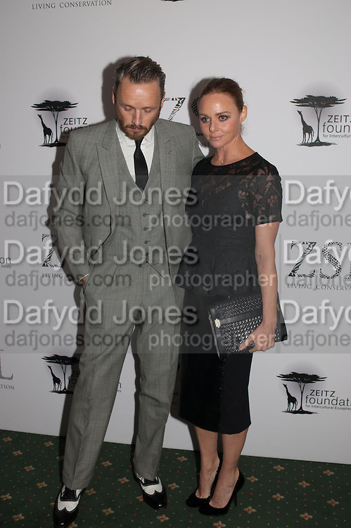 ALASDAIR WILLIS; STELLA MCCARTNEY, Fundraising Gala for the Zeitz foundation and Zoological Society of London hosted by Usain Bolt. . London Zoo. Regent's Park. London. 22 November 2012.