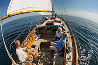 Silverlining sailing tours Ogunquit, Maine