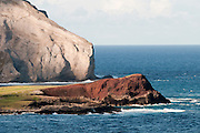 Rabbit Island known as Manana Island on the east side of Oahu.