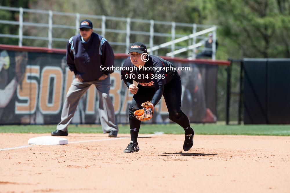 BUIES CREEK, NC - April 3rd, 2016 Campbell University Softball vs Presbyterian
