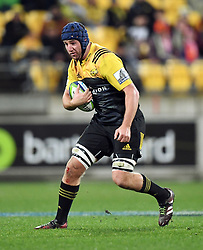 Hurricanes Mark Abbott against the Crusaders in Super Rugby match at Westpac Stadium, Wellington, New Zealand, Saturday, July 15, 2017. Credit:SNPA / Ross Setford  **NO ARCHIVING""