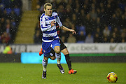 Reading's Matej Vydra on the attack during the Sky Bet Championship match between Reading and Queens Park Rangers at the Madejski Stadium, Reading, England on 3 December 2015. Photo by Mark Davies.