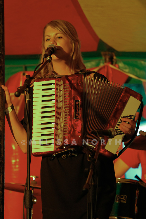 Marthas & Arthurs perform live on stage at Standon Calling, Herts, UK on 13 August 2011. JPH/B2779