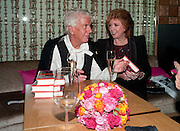 NICKY HASLAM; CILLA BLACK, Launch of Nicky Haslam's book Redeeming Features. Aqua Nueva. 5th floor. 240 Regent St. London W1.  5 November 2009.  *** Local Caption *** -DO NOT ARCHIVE-© Copyright Photograph by Dafydd Jones. 248 Clapham Rd. London SW9 0PZ. Tel 0207 820 0771. www.dafjones.com.<br /> NICKY HASLAM; CILLA BLACK, Launch of Nicky Haslam's book Redeeming Features. Aqua Nueva. 5th floor. 240 Regent St. London W1.  5 November 2009.