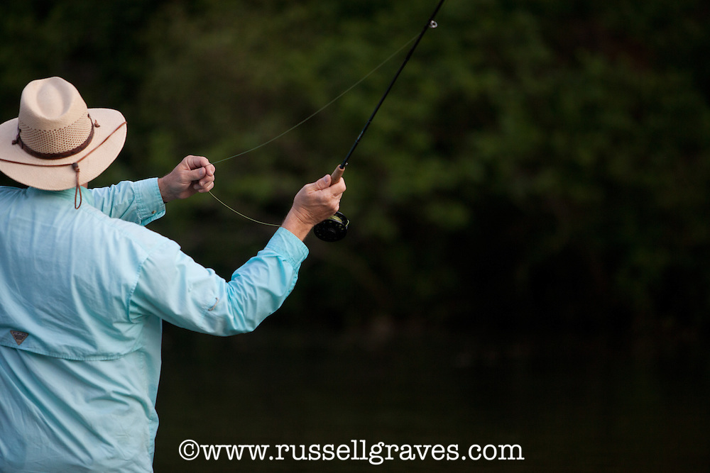 FLY ANGLER CASTING