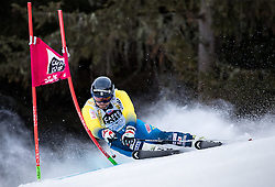 19.12.2016, Grand Risa, La Villa, ITA, FIS Ski Weltcup, Alta Badia, Riesenslalom, Herren, 1. Lauf, im Bild Matts Olsson (SWE) // Matts Olsson of Sweden in action during 1st run of men's Giant Slalom of FIS ski alpine world cup at the Grand Risa race Course in La Villa, Italy on 2016/12/19. EXPA Pictures © 2016, PhotoCredit: EXPA/ Johann Groder