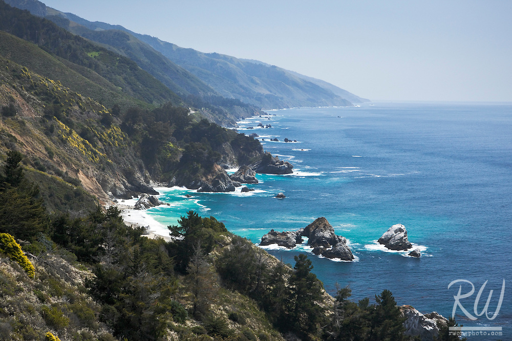 Big Sur Scenic Coastline, Los Padres National Forest, California
