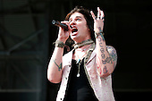 Hinder at Rock on the Range on May 21, 2011
