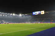 General Stadium view during the Premier League match between Leicester City and Watford at the King Power Stadium, Leicester, England on 4 December 2019.