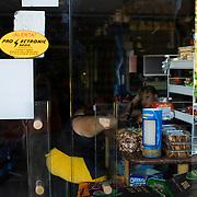 Carniceria sin servicio electrico en la Urbanizacion Nueva Casarapa, Guarenas, Estado Miaranda en donde se aprecia la falta del servicio electrico 13-01-2010. Photography by Aaron Sosa