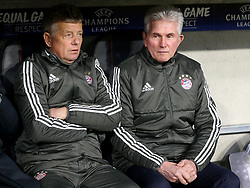 20.02.2018, Allianz Arena, Muenchen, GER, UEFA CL, FC Bayern Muenchen vs Besiktas Istanbul, Achtelfinale, Hinspiel, im Bild Co-Trainer Peter Hermann (FC Bayern Muenchen) Trainer Jupp Heynckes (FC Bayern Muenchen) // during the UEFA Champions League round of 16, 1st Leg Match match between FC Bayern Muenchen and Besiktas Istanbul at the Allianz Arena in Muenchen, Germany on 2018/02/20. EXPA Pictures © 2018, PhotoCredit: EXPA/ Eibner-Pressefoto/ Langer<br /> <br /> *****ATTENTION - OUT of GER*****