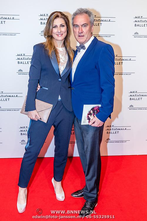 NLD/Amsterdam/20170320 - Onegin – Het Nationale Ballet premiere, Euvgenia Parakhina en partner Jeroen Jorna