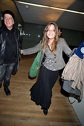 NICKY HASLAM and CHARLOTTE GOLDSMITH daughter of the late Sir James Goldsmith and Laure Boulay de la Meurth at the Montblanc de la Culture Arts Patronage Award 2009 held at the Tate Modern, Bankside, London SE1 on 16th April 2009.