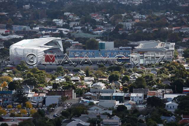 The Eden Park Stadium in Auckland has a capacity of 60.000 seats for the Rugby WC 2011, pool matches with the teams of New Zealand, Tonga, Australia, Ireland, France, Fiji, Samoa, England, Scotland will be played there as well as the opening match New Zealand v Tonga and the final