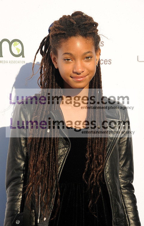 Willow Smith at the Environmental Media Association's 27th Annual EMA Awards held at the Barker Hangar in Santa Monica, USA on September 23, 2017.