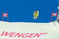 ALPINE SKIING - WORLD CUP 2011/2012 - WENGEN (SUI) - 14/01/2012 - PHOTO : GERARD BERTHOUD / DPPI - MEN DOWNHILL - Aksel Lund SVINDAL (NOR)