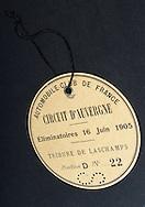 28/11/07 - GERZAT - PUY DE DOME - FRANCE - Collection prive de Jean OZIOL de differents objets sur la Course GORDON BENNETT - Photo Jerome CHABANNE