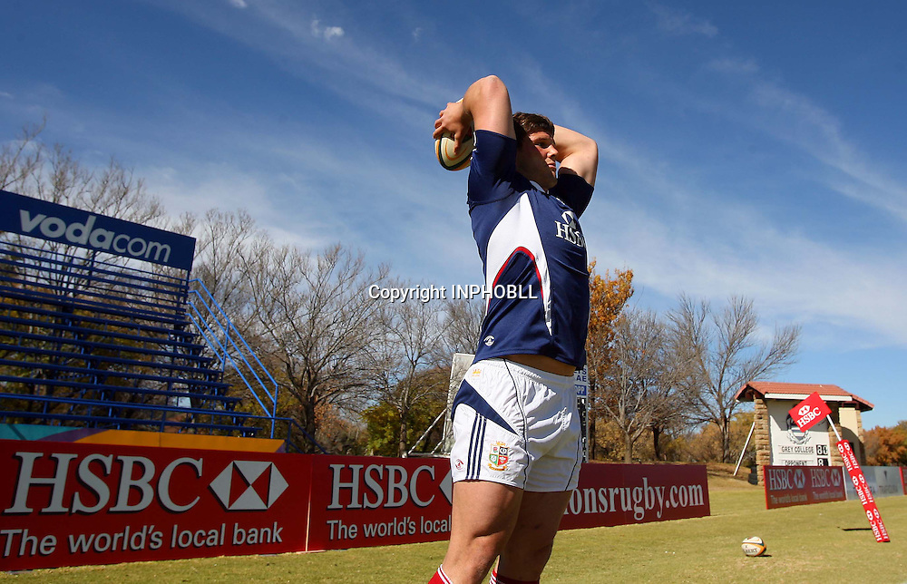 British &amp; Irish Lions Training, Grey College, Bloemfontein, South Africa 5/6/2009<br />