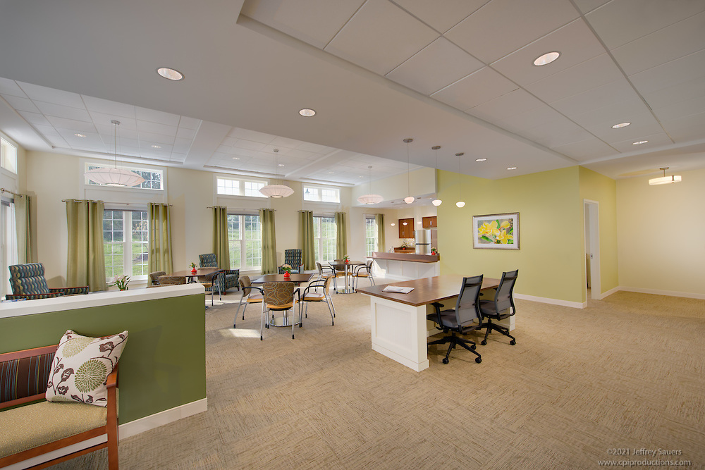 Interior image of  Integrace Copper Ridge in Sykesville Maryland by Jeffrey Sauers of Commercial Photographics, Architectural Photo Artistry in Washington DC, Virginia to Florida and PA to New England