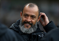 Wolverhampton Wanderers manager Nuno Espirito Santo before the Premier League match at Molineux, Wolverhampton.
