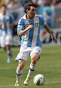 JUNE 09 2012:   Lionel Messi (10) of Argentina during an international friendly match against Brazil at Metlife Stadium in East Rutherford,New Jersey. Argentina won 4-3.