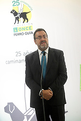 24.09.2015, Madrid, ESP, 25 Jahre Perro Guia ONCEs Foundation, im Bild ONCE's President Miguel Carballeda // during the 25th anniversary of 'Perro Guia ONCE's Foundation'. in Madrid, Spain on 2015/09/24. EXPA Pictures © 2015, PhotoCredit: EXPA/ Alterphotos/ Acero<br /> <br /> *****ATTENTION - OUT of ESP, SUI*****