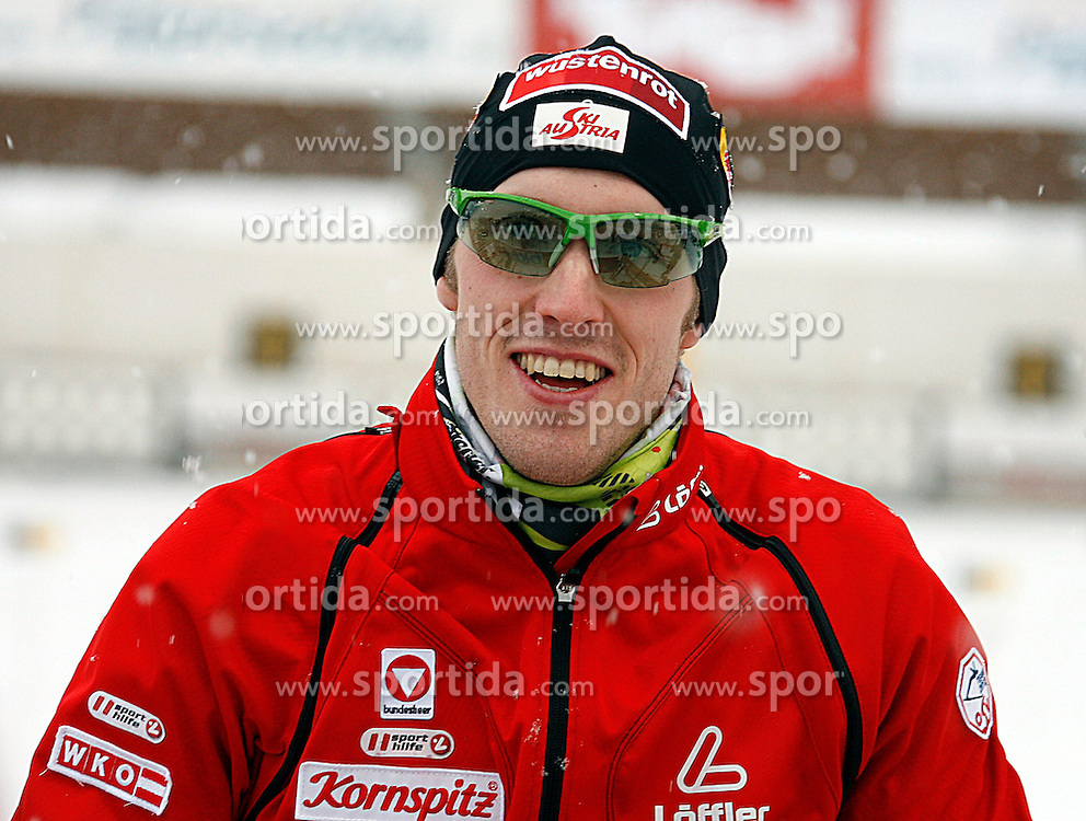 15.12.2011, Biathlonzentrum, Hochfilzen, AUT, E.ON IBU Weltcup, 3. Biathlon, Hochfilzen, Sprint Maenner, im Bild Dominik Landertinger (AUT) // during Sprint men E.ON IBU World Cup 3th Biathlon, Hochfilzen, Austria on 2011/12/15. EXPA Pictures © 2011, PhotoCredit: EXPA/ Oskar Hoeher