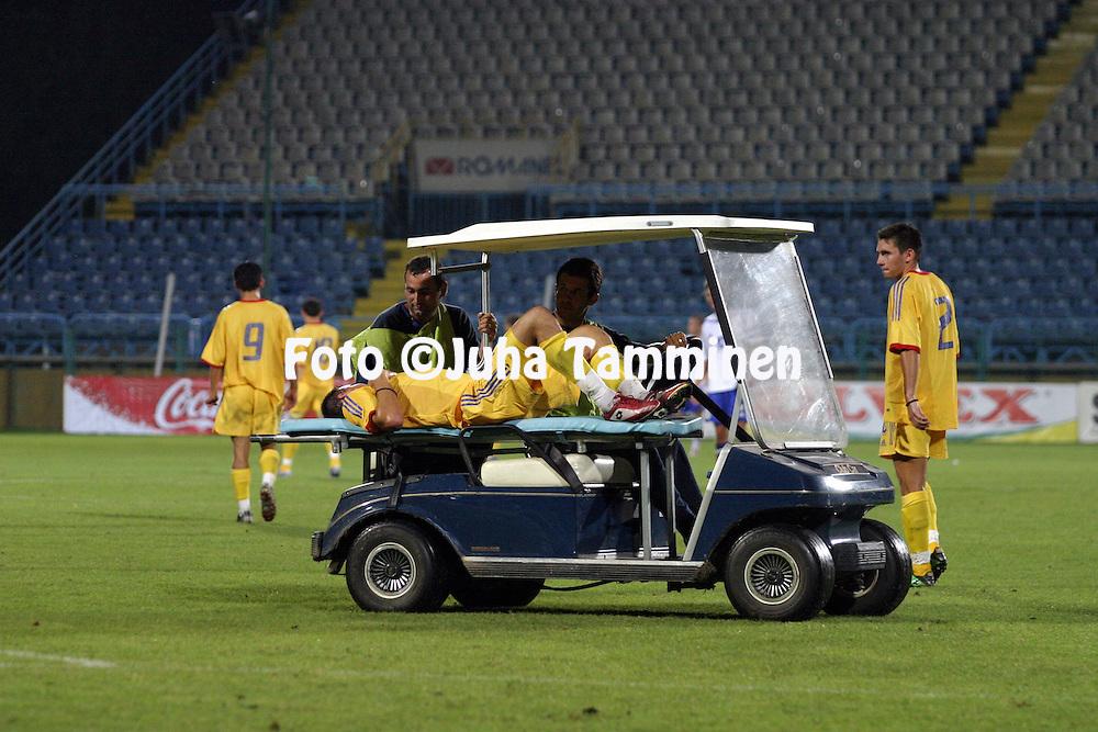 17.08.2004, Cotroceni Stadium, Bucharest, Romania..UEFA Under-21 European Championship qualifying match, Romania v Finland..Paariauto.©Juha Tamminen.....ARK:k