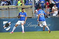 23.09.2017 - Genova - Serie A 4a giornata   -  Sampdoria-Milan  nella  foto: Ricky Alvarez esulta dopo il gol del 2  a 0