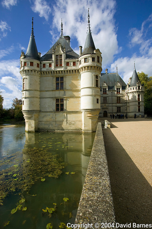 Chateau of Azay-le-Rideau, Indre-et-Loire, Loire Valley, France