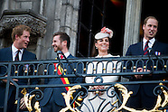 Kate and William Duchess and Duke of Cambridge and Prince Harry present in Mons