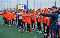 Den Bosch - Rabo fandag 2019 . hockey clinics met de spelers van het Nederlandse team.    COPYRIGHT KOEN SUYK