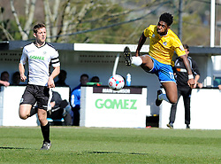 Bristol Rovers' Ellis Harrison - Photo mandatory by-line: Neil Brookman/JMP - Mobile: 07966 386802 - 18/04/2015 - SPORT - Football - Dover - Crabble Athletic Ground - Dover Athletic v Bristol Rovers - Vanarama Football Conference