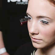 PROVIDENCE, RI - FEB 13: backstage prior to the Jess Abernethy show as part of StyleWeek NorthEast on February 13, 2015 in Providence, Rhode Island. (Photo by Cat Laine)