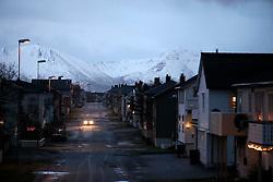 NORWAY ANDENES 7DEC15 - General view of the town of Andenes, Vesteralen, Norway.<br /> <br /> jre/Photo by Jiri Rezac / Greenpeace<br /> <br /> © Jiri Rezac 2015