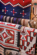 Navajo blankets at Hubbell Trading Post National Historic Site, Arizona.