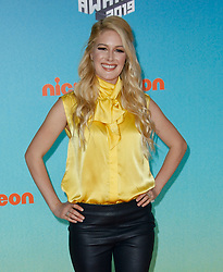 March 23, 2019 - Los Angeles, CA, USA - LOS ANGELES, CA - MARCH 23: Heidi Montag attends Nickelodeon's 2019 Kids' Choice Awards at Galen Center on March 23, 2019 in Los Angeles, California. Photo: CraSH for imageSPACE (Credit Image: © Imagespace via ZUMA Wire)