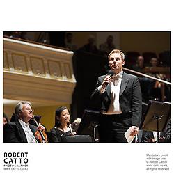 Vesa-Matti Leppänen at the NZSO 60th Anniversary Concert at Wellington Town Hall, Wellington, New Zealand.
