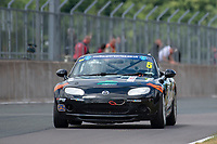 #5 Andy FAGAN Mazda MX-5 Mk3  during BRSCC Mazda MX-5 Super Series  as part of the BRSCC NW Mazda Race Day  at Oulton Park, Little Budworth, Cheshire, United Kingdom. June 16 2018. World Copyright Peter Taylor/PSP. Copy of publication required for printed pictures. http://archive.petertaylor-photographic.co.uk