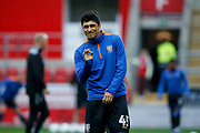 Fernando Forestieri of Sheffield Wednesday before the EFL Cup match between Rotherham United and Sheffield Wednesday at the AESSEAL New York Stadium, Rotherham, England on 28 August 2019.