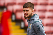 Leeds United midfielder Mateusz Klich (43) arrives at the ground during the EFL Sky Bet Championship match between Barnsley and Leeds United at Oakwell, Barnsley, England on 15 September 2019.