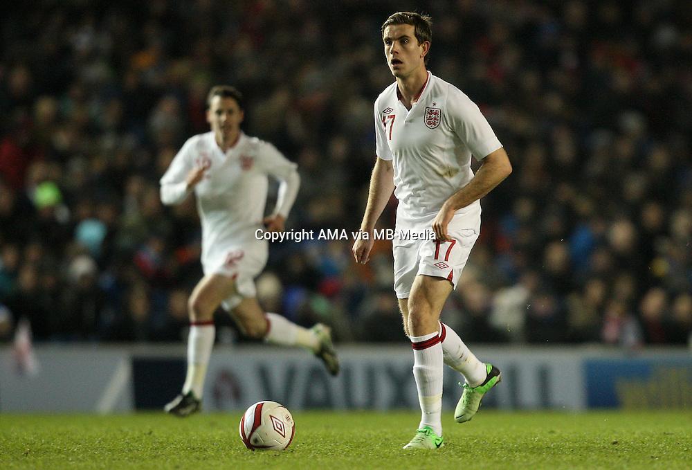 Jordan Henderson of England U21